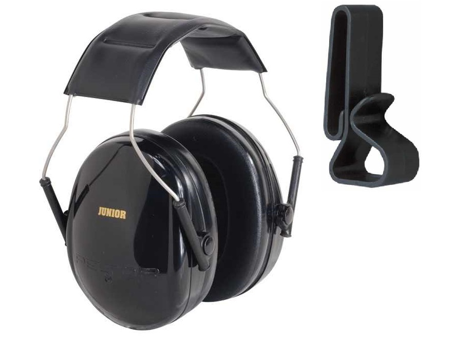 Peltor 97070 Junior Black Adjustable Folding Earcup Earmuff Ear Muff NRR 22 Youth Children, Small Adult & Women +... by