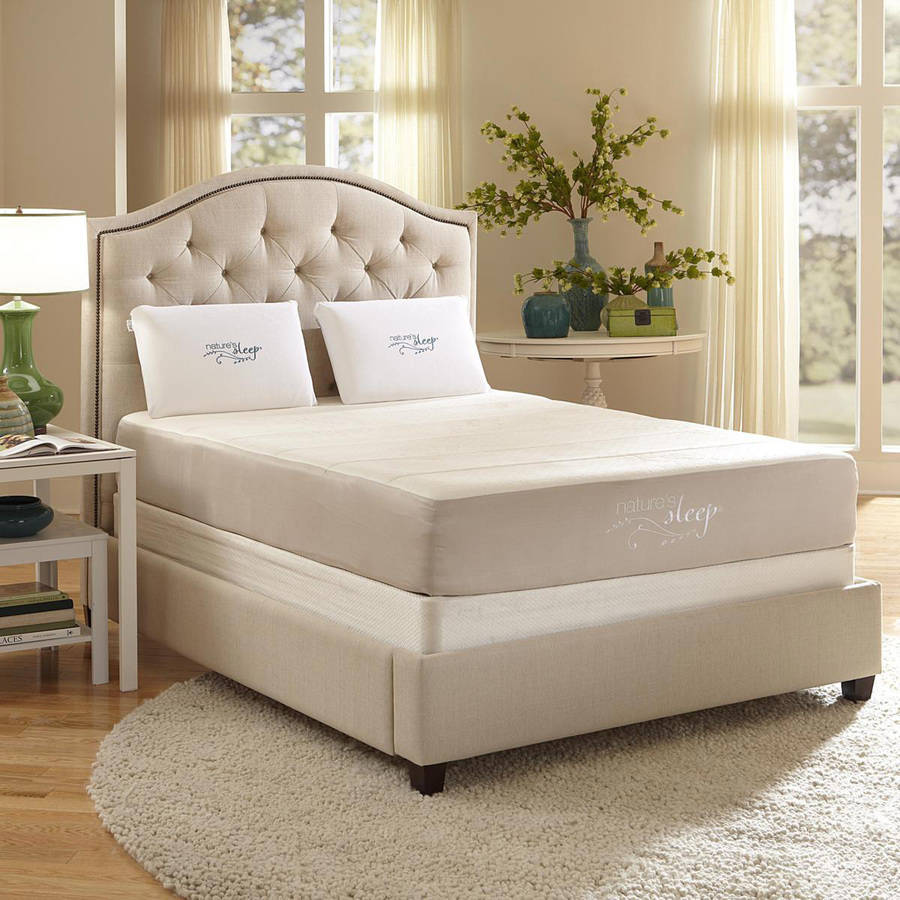 """Nature's Sleep 11"""" Quilted Gel Memory Foam Mattress, Multiple Sizes"""