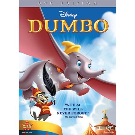 Dumbo (DVD) - Disney Halloween Movies For Children Full Movies