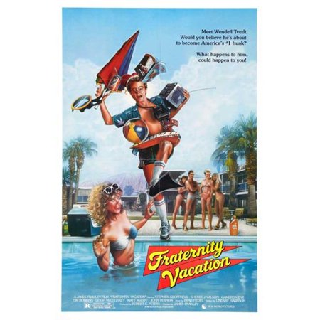 Posterazzi MOVAB96743 Fraternity Vacation Movie Poster - 27 x 40 in. - image 1 of 1