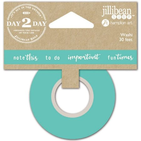 Day 2 Day Planner Washi Tape  1   X 30  Note This