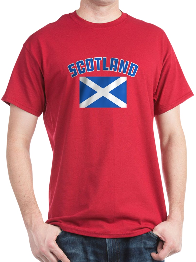effce73f CafePress - Scotland Flag - 100% Cotton T-Shirt - Walmart.com