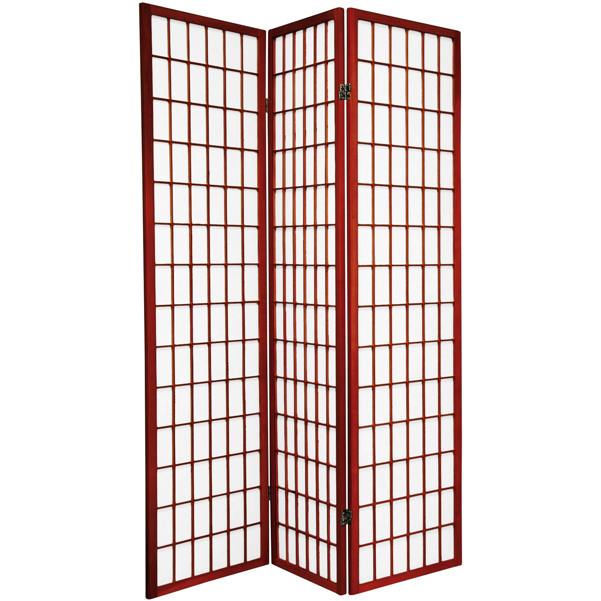 6' Tall Window Pane Shoji Screen