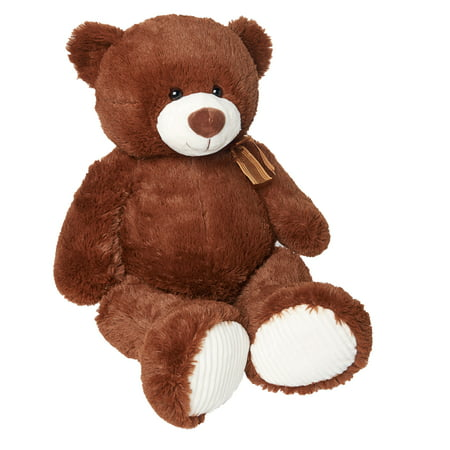 Way To Celebrate Valentine's Day Brown Bear Stuffed Animal
