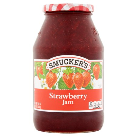 Wright Strawberry - (2 Pack) Smucker's Strawberry Jam, 48 oz