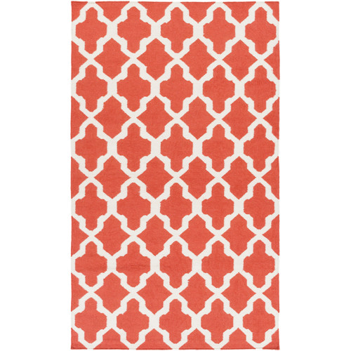 Artistic Weavers York Orange Geometric Olivia Area Rug