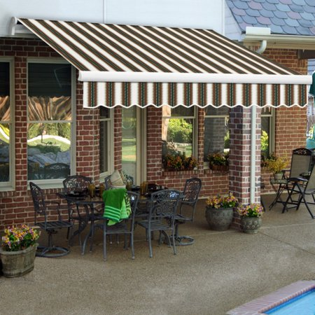 Awntech MAUI 14 ft. Manual Retractable Awning Awntech Retractable Awnings