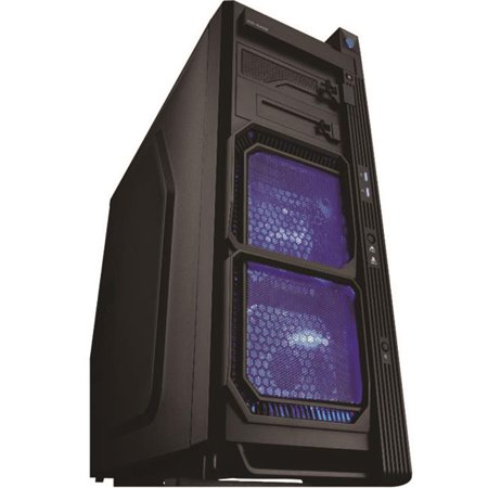 Powsun Electronic SDGR-CA-G5-01-BK Gaming Tower, G5