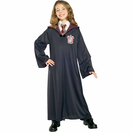 Harry Potter Gryffindor Robe Child Halloween Costume (Entertaining A Harry Potter Halloween Party)