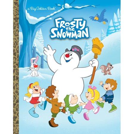 Golf Snowman (Big Golden Books: Frosty the)