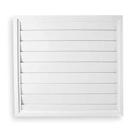 DAYTON 3HHR2 Ceiling Shutter,26 Long,26 Wide