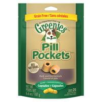 Greenies Pill Pockets Capsule Size Dog Treats (Various Counts)