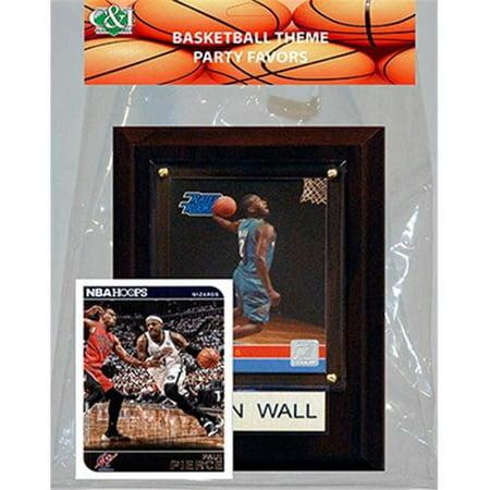 Candlcollectables 46LBWIZARDS NBA Washington Wizards Party Favor With 4 x 6 Plaque