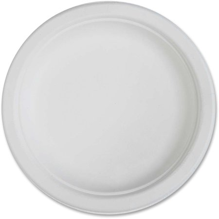 Genuine Joe Compostable Plates, 6