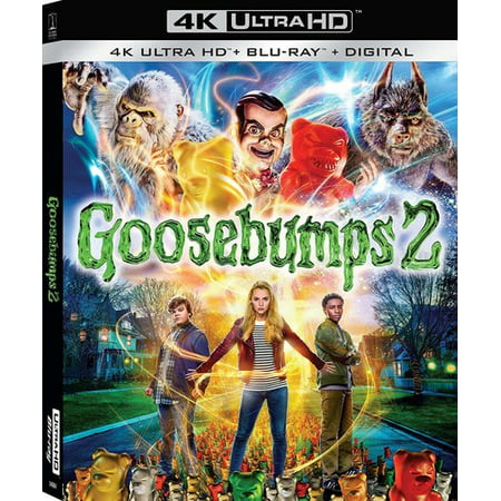 Halloween Movies For Families To Watch (Goosebumps 2: Haunted Halloween (4K Ultra HD + Blu-ray + Digital)