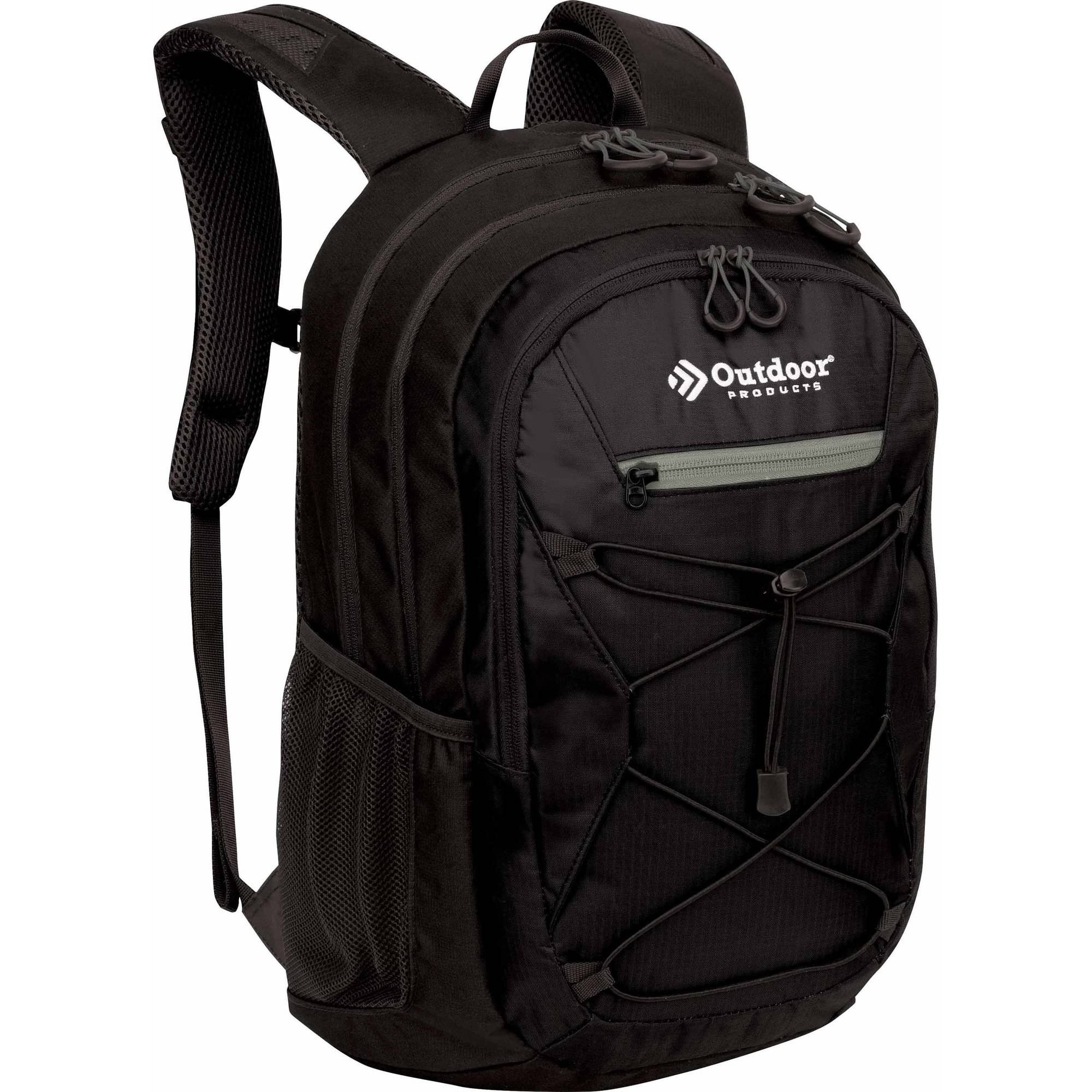 Outdoor Products Odyssey Backpack Daypack, Black
