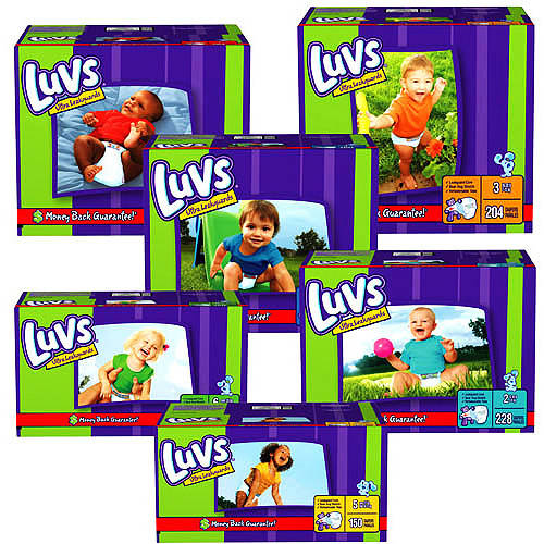 Luvs - Premium Stretch Diapers (sizes 1, 2, 3, 4, 5, 6)