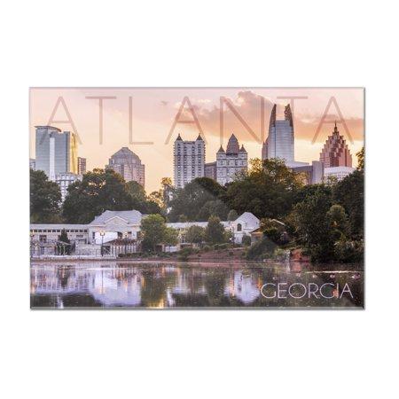 Atlanta  Georgia   Piedmont Park   Lantern Press Photography   12X8 Acrylic Wall Art Gallery Quality