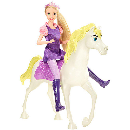 Disney Princess Rapunzel Doll and Horse by Mattel