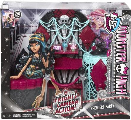 Monster High Frights, Camera, Action! Premiere Party Playset (Monster High Party)