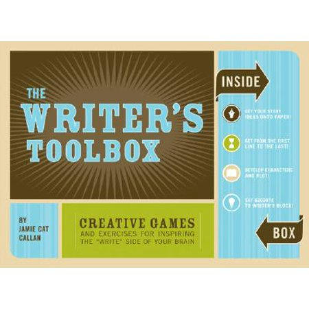 The Writer's Toolbox: Creative Games and Exercises for Inspiring the 'Write' Side of Your Brain (Writing Prompts, Writer Gifts, Writing Kit - Halloween Writing Prompts For Kids