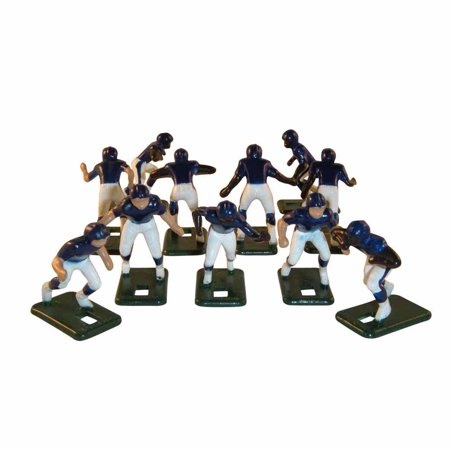 Electric Football 67 Big Men Players 11 in Dark Blue Light Blue Grey Home Uniform 3.5 Acrylic Football Player