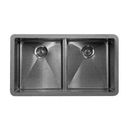 Karran Edge E550 Undermount Double Bowl Sink