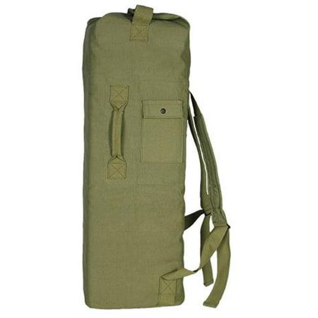 Fox Outdoor 40-35 OD GI Style 2 Strap Duffle Bag - Olive - Fox Gear Bag