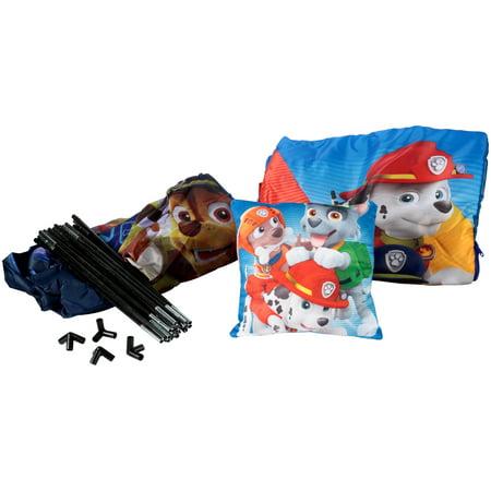 Paw Patrol Teepee, Pillow & Slumber Set 3 pc. Box