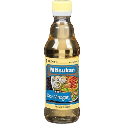 Mitsukan Rice Vinegar 12 fl oz, (Pack of 6)