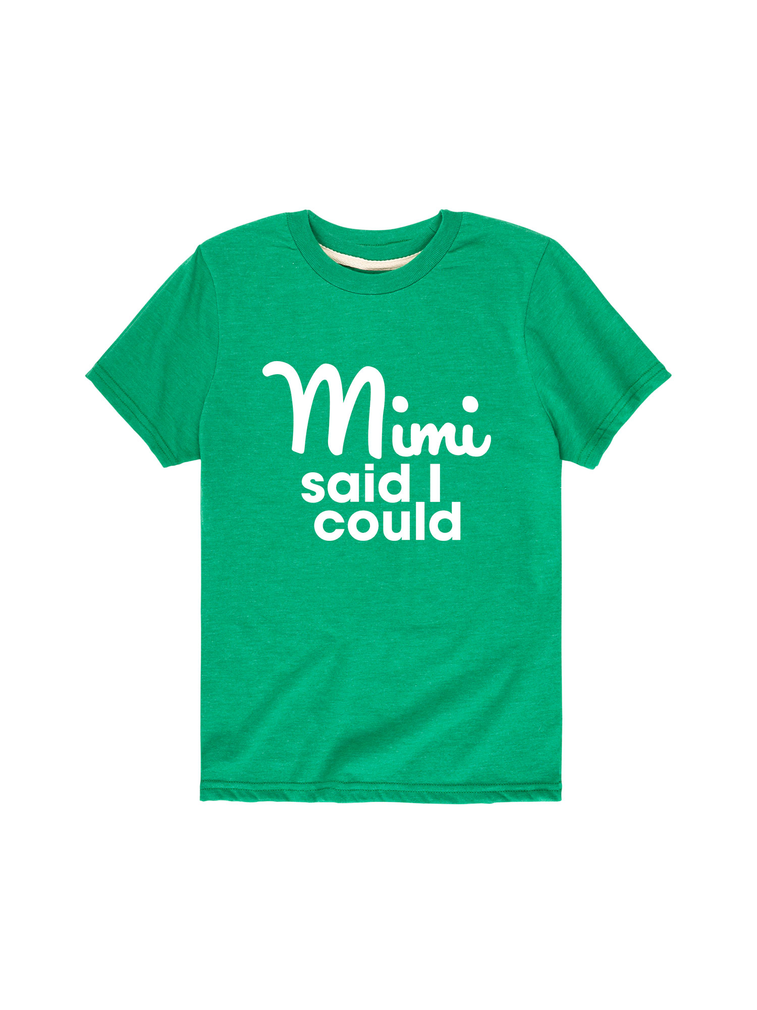 Mimi Said I Could  - Toddler Short Sleeve Tee