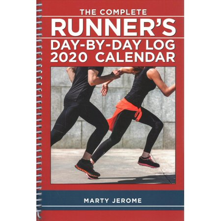 The Complete Runner's Day-By-Day Log 2020 Calendar ()