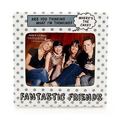 our name is mud fantastic friends ceramic photo frame, 4x5