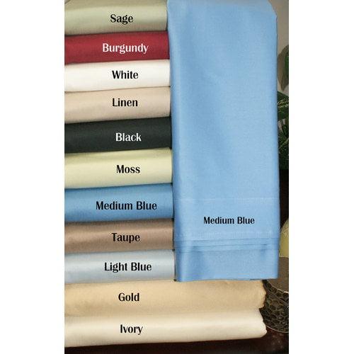 Superior  650 Thread Count 100% Premium Quality Cotton Solid Duvet Cover Set