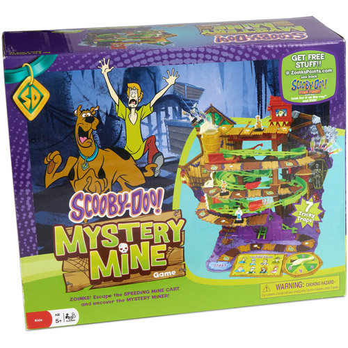 Pressman Toy Scooby-Doo Mystery Mine Game