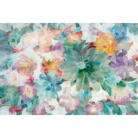 Succulent Florals Crop Poster Print by Danhui Nai (10 x 14)