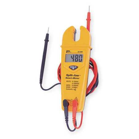 Split Jaw Clamp Meter,200A,LCD IDEAL 61-096