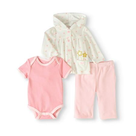 0459b658e1b8 Rene Rofe - Newborn Baby Girl Fleece Jacket