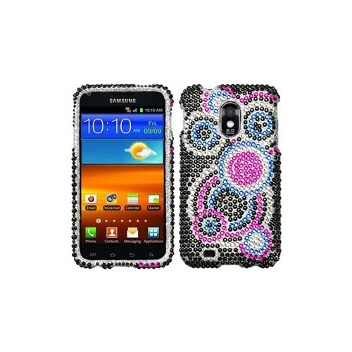 Insten Bubble Diamante Case for SAMSUNG: D710 (Epic 4G Touch), R760 (Galaxy S II), Galaxy S II 4G