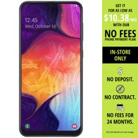 Straight Talk SAMSUNG Galaxy A50, 64GB Black - Prepaid Smartphone