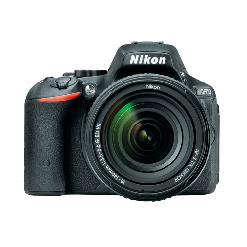 Nikon D5500 Digital SLR Camera with 24.2 Megapixels and 18-140mm VR Lens Kit