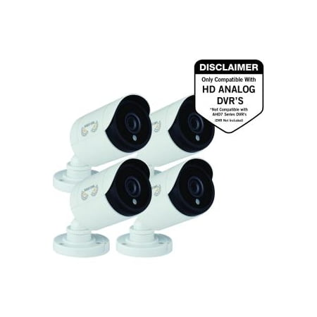 4PK 1080P HD ADD -ON BULLET CAM NIGHT VISION 60FT (Xe262h 10 Cam)