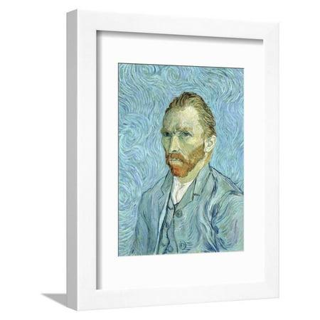 Self Portrait, 1889 Framed Print Wall Art By Vincent van