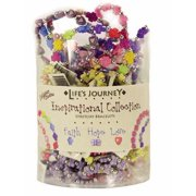 Bracelet-Stretchy-Assorted Inspirational Collection w/Tub Display (Pack Of 96)