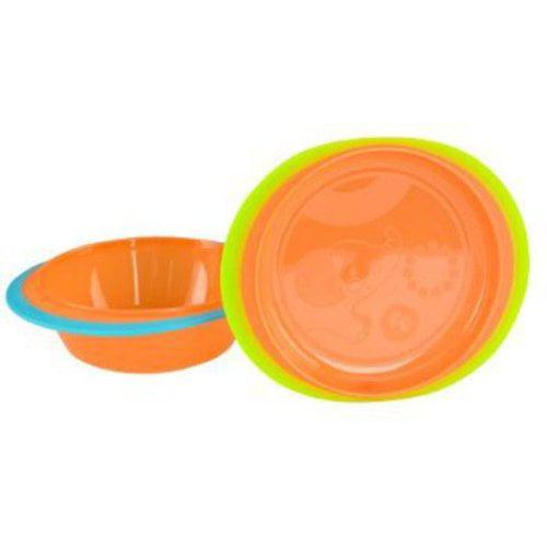 Fisher-Price Heat Sensitive Bowl and Plate Set, BPA-Free
