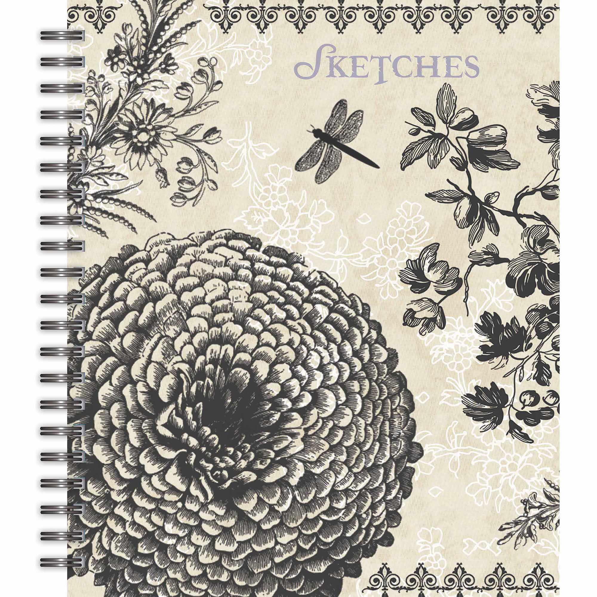 "Lang ""Belle Maison"" Spiral Bound Sketchbook"