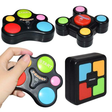 Children Puzzle Memory Game Console LED Light Sound Interactive Toy - image 6 de 10
