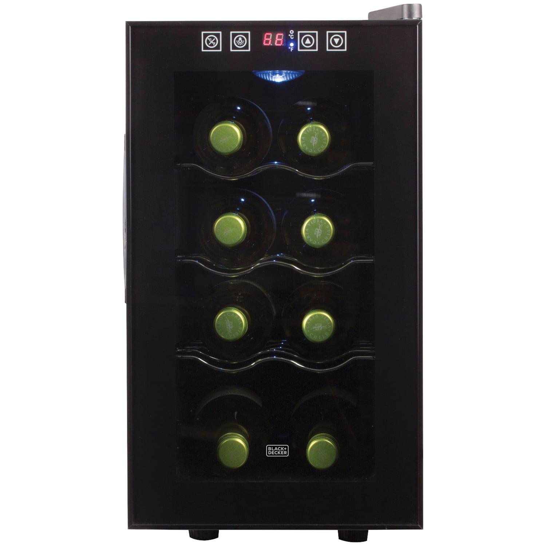 Black & Decker BWT08TB Wine Cellar (8-Bottle Capacity) by BLACK DECKER