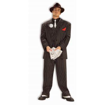 Adult Chicago Gangster Halloween Costume - Woman Gangster Halloween Costumes