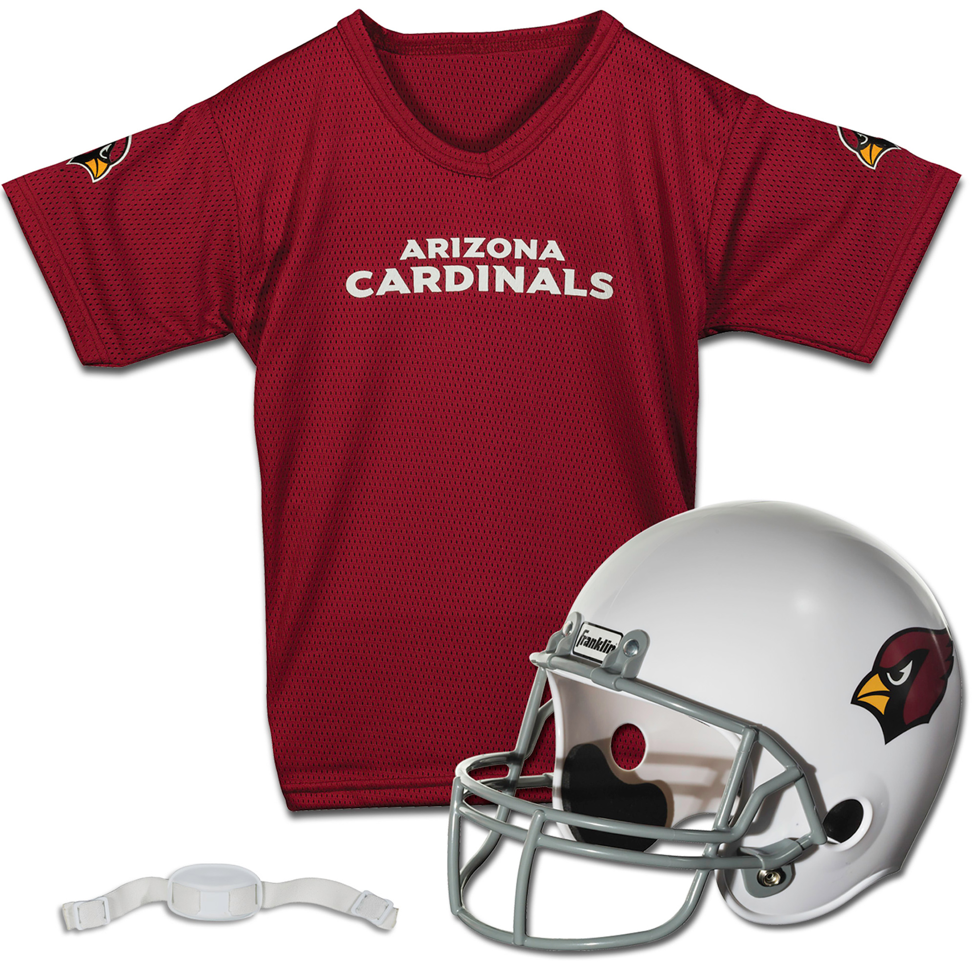 Arizona Cardinals Franklin Sports Youth Helmet and Jersey Set - No Size